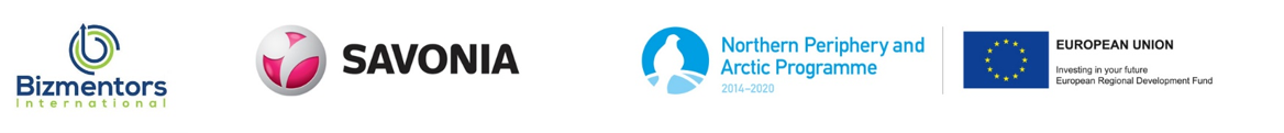 Hankkeen ja rahoittajien logot
